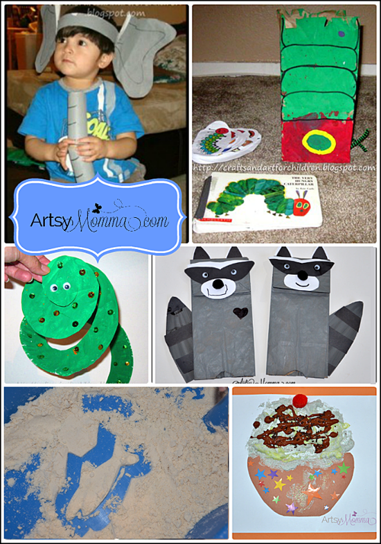 10 Book-themed Crafts and Activities for Kids