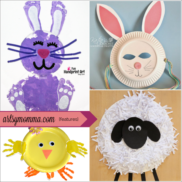 10 Fun Paper Plate Easter Crafts For Kids Artsy Momma