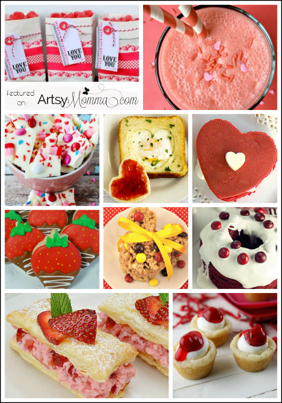 38 Sweet Snack Ideas for Valentine's Day