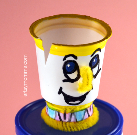 Beauty and the Beast Craft - Chip