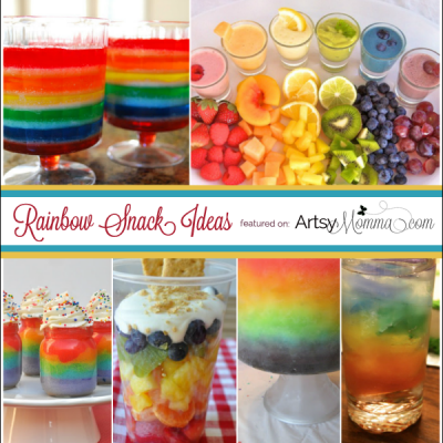 15 Creative Rainbow Snack Ideas