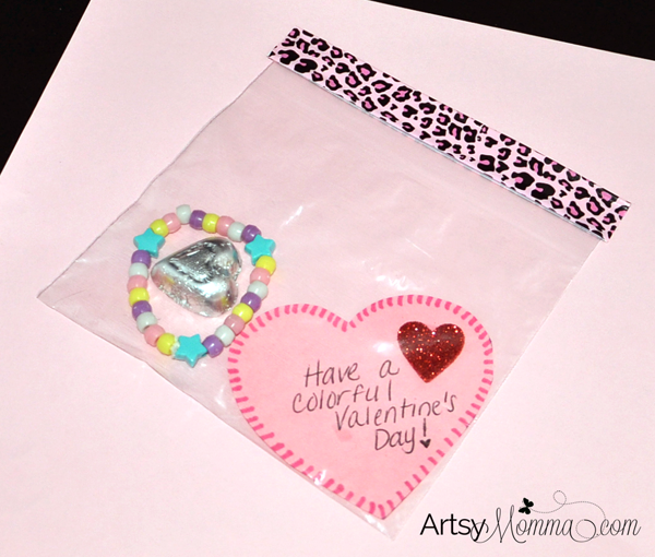 DIY Bracelet Valentine for Kids