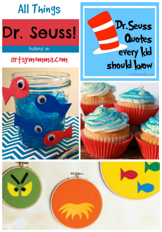 Dr Seuss Quotes, Crafts, and Snack Ideas