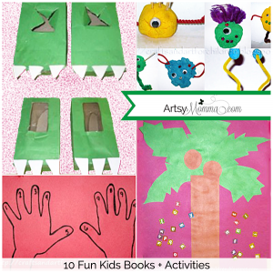 Fun Book-themed Crafts for Kids