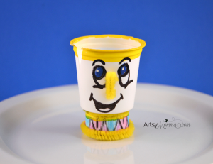 K-cup Craft: Chip from Beauty and the Beast