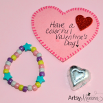 Kid-made Bracelet Valentine