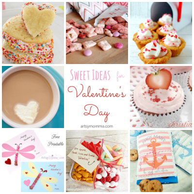 38 Sweet Snack Ideas for Valentine's Day {Bewitchin' Projects}