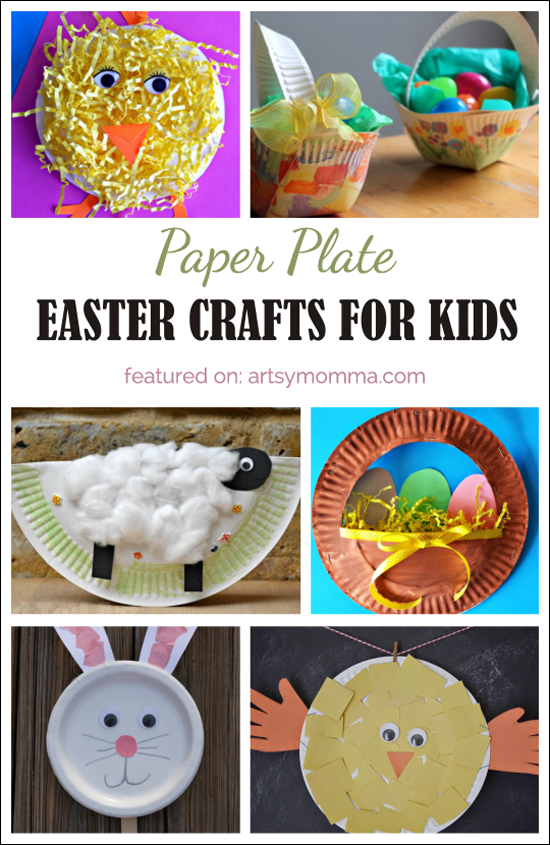 Top 10 Paper Plate Easter Crafts for Kids  sc 1 st  Artsy Momma & 10 Fun Paper Plate Easter Crafts for Kids - Artsy Momma