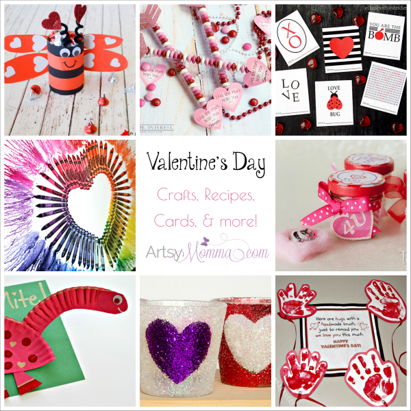 Valentine S Day Crafts And Ideas Galore Artsy Momma