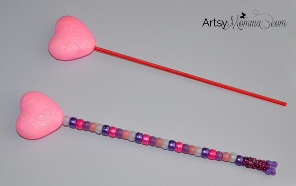 Valentine's Day Magical Heart Wand Craft