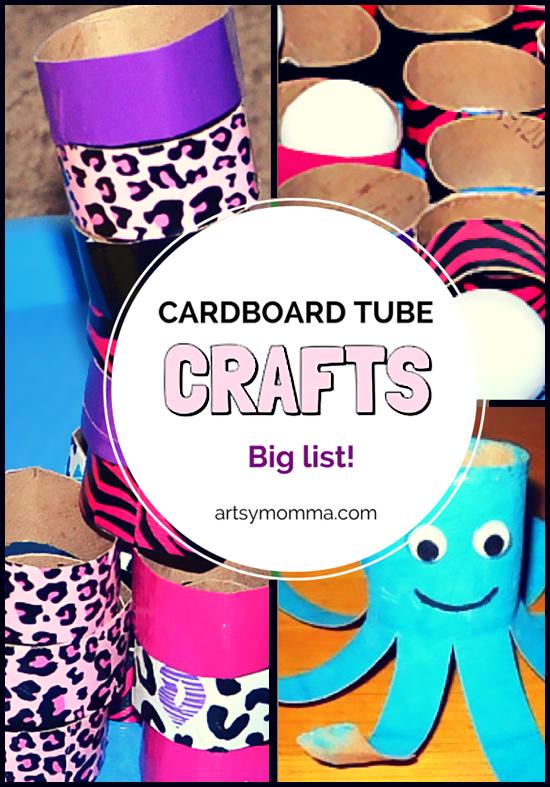 Big List of Cardboard Tube Crafts for Kids