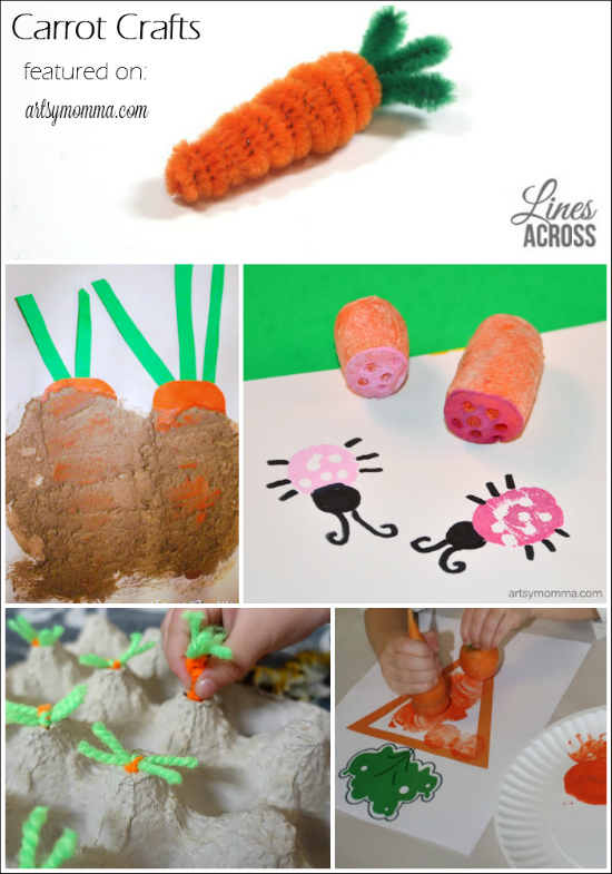 12+ Carrot Crafts and Activities for Kids