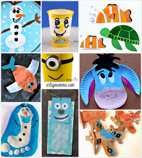 Disney Character Craft Ideas for Kids