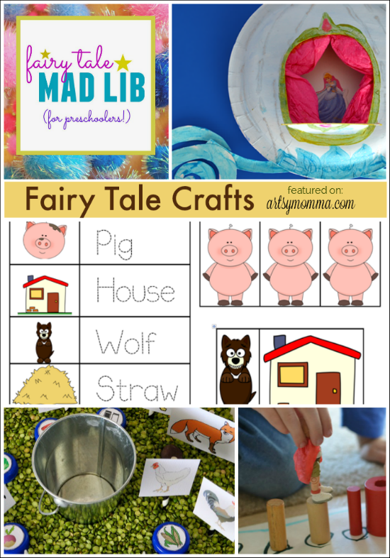 Fairy Tale Crafts for Preschoolers