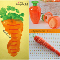 Fun Carrot Crafts for Kids