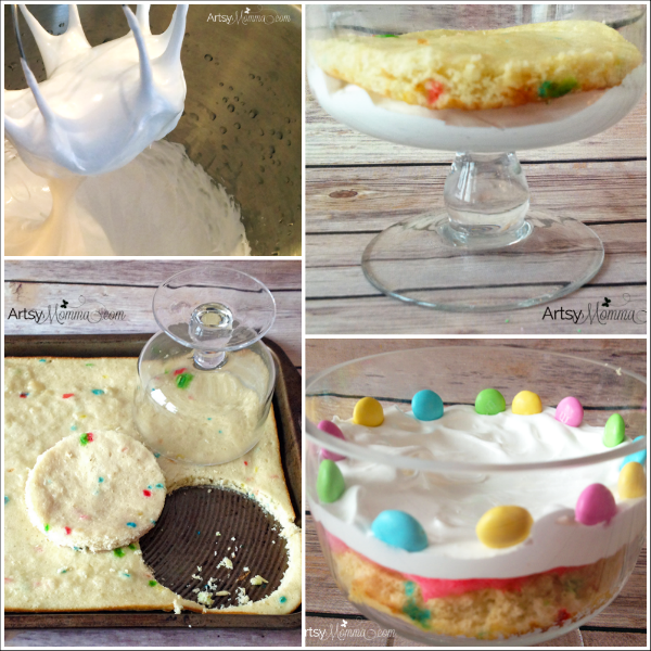 How to make a Mini Funfetti Cake for Easter