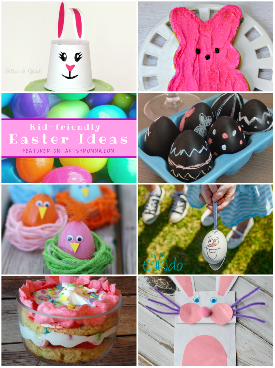 Kid-friendly Easter Ideas | artsymomma.com