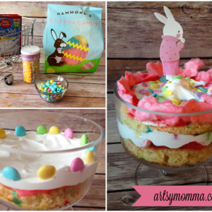 Mini Easter Funfetti Cake Tutorial