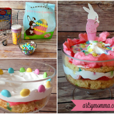 Mini Layered Funfetti Easter Cake Tutorial