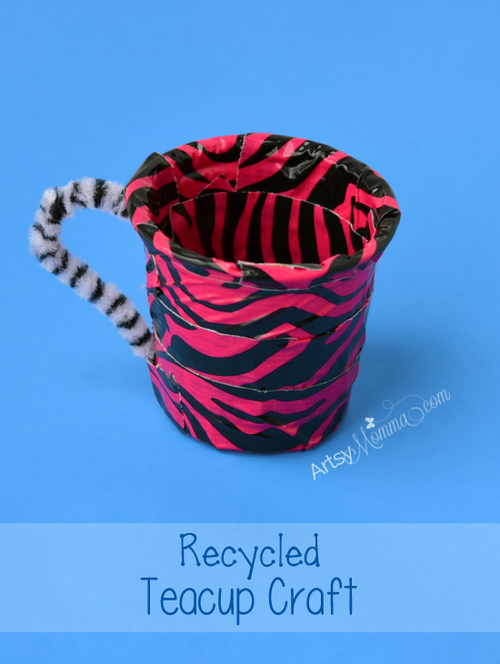 Recycled K Cups: Teacup Craft for Kids