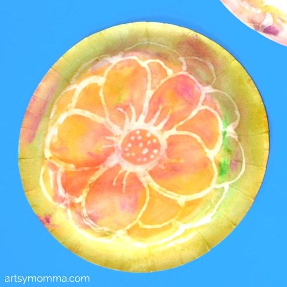 Spring Watercolor Art for Preschoolers