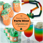 Fun St Patrick's Day Party Ideas {Bewitchin' Projects Linky}