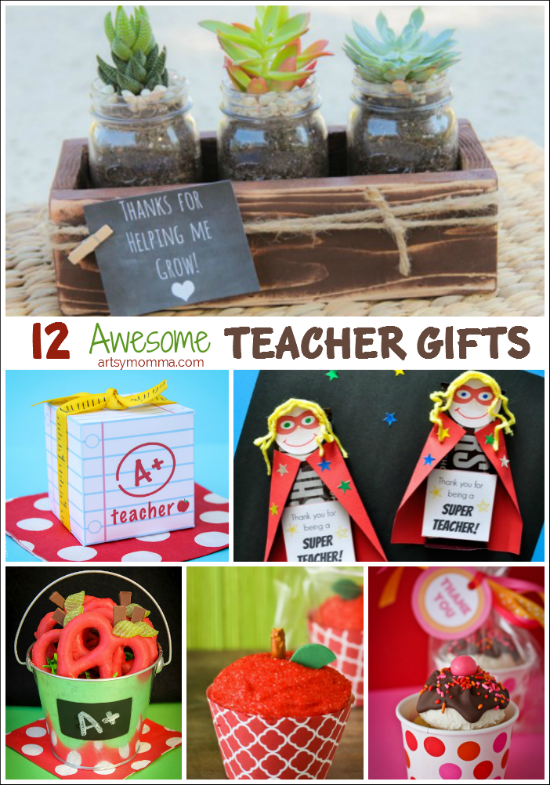12 Awesome DIY Teacher Gifts