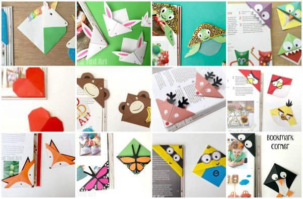 Corner Bookmarks for Kids