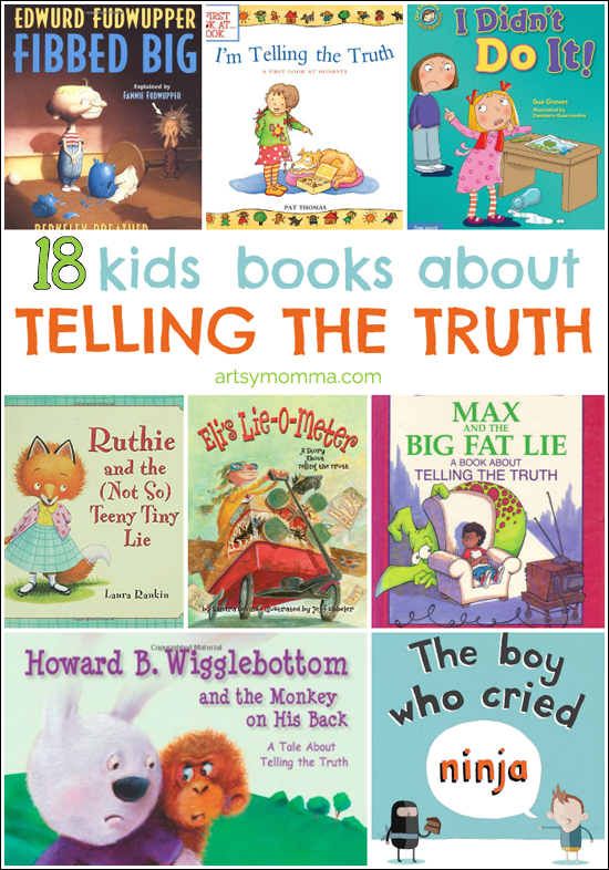 18 Kids Books About Telling the Truth
