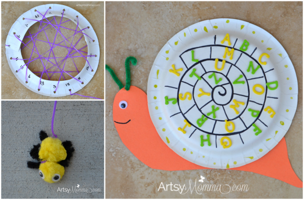 Bug Themed Learning Activities for Preschoolers