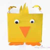 DIY Easter Basket | Chick Craft for Kids