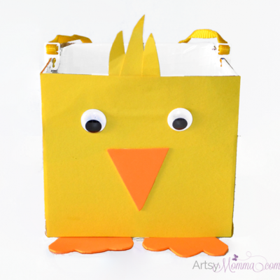 DIY Easter Basket | Chick Craft for Kids