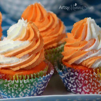Dreamy Orange Creamsicle Cupcake Recipe
