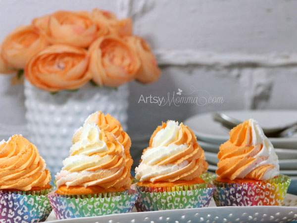 Recipe for Orange Cream Cupcakes