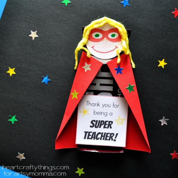 Superhero DIY Teacher Appreciation Gift