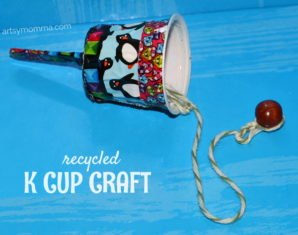 Recycled k cup craft toy for kids artsy momma for Craft toys for kids