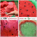 Learn and Play with Watermelon Activities