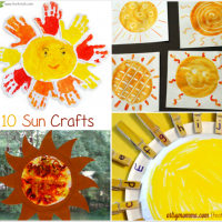 Celebrate Summer with Sun Crafts!