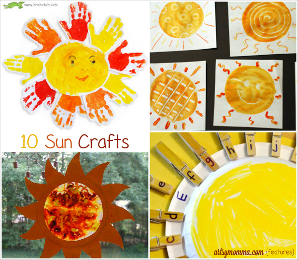 Celebrate Summer with Sun Crafts! - Artsy Momma