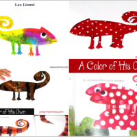 Color Changing Chameleon Activity | A Color of His Own Book