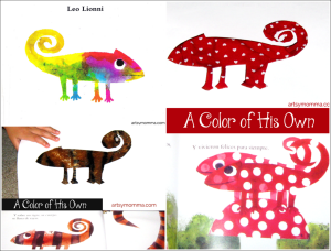 A Color of His Own Color Changing Chameleon Activity