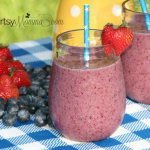 Bananaberry Chia Smoothie Recipe + Chia Benefits