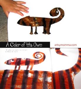 Chameleon Craft Activity