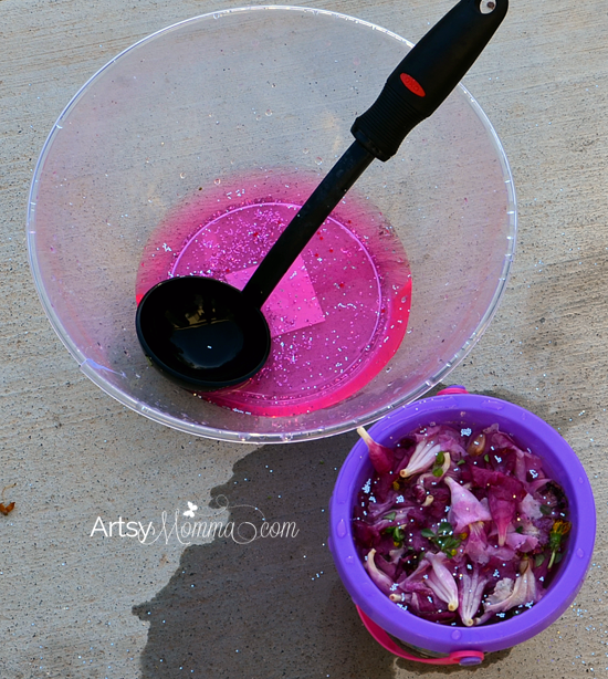 Fairy Soup Play Recipe for Kids