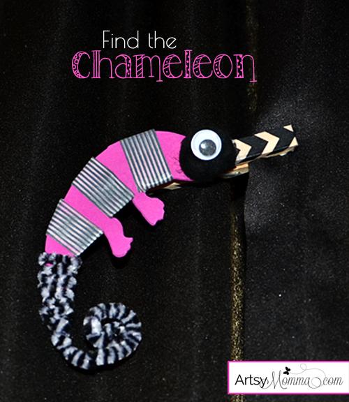 Find the Chameleon Game for Kids