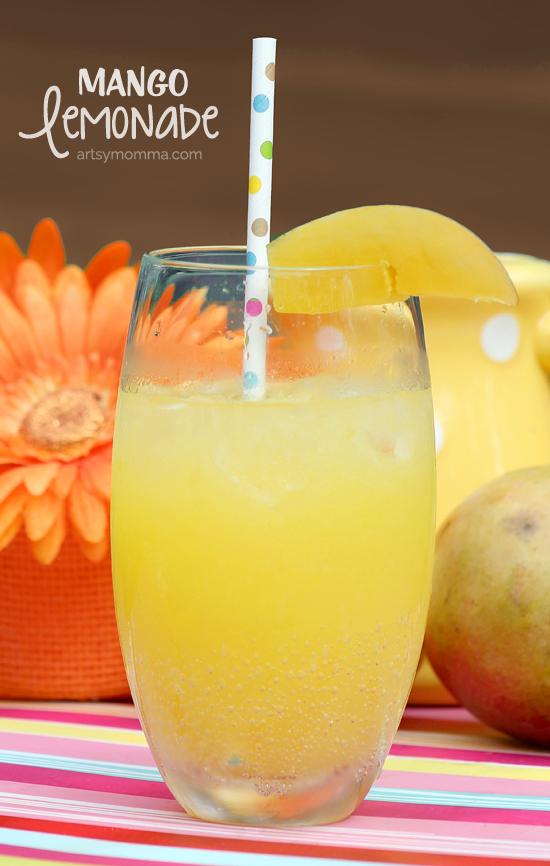 How to make Mango Lemonade