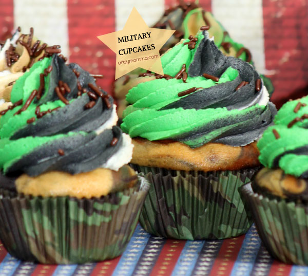 MIlitary Cupcakes Recipe