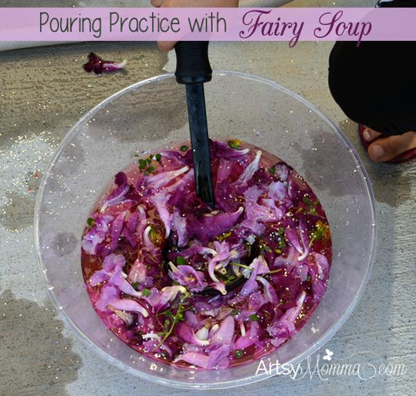 Water Pouring Practice for Preschoolers
