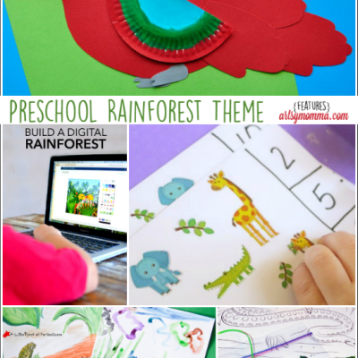 Preschool Activities: Rainforest Theme – 5 creative ways to learn and explore!