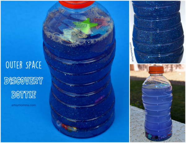 Preschool Science: Outer Space Sensory Craft